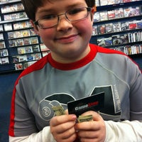 Photo taken at GameStop by Kristen D. on 1/5/2014