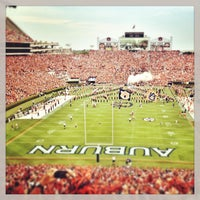 Photo taken at Pat Dye Field at Jordan-Hare Stadium by Brooks G. on 8/31/2013