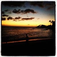 Photo taken at Makaha Beach Park by Lumar G. on 3/2/2013