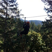 Photo taken at Adrena LINE Zip Line Adventure Tours by Sharyn S. on 9/26/2012