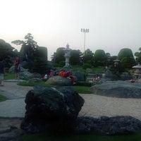 Photo taken at Tùng Sơn Thạch Hoa Viên - Rin Rin Park by Kien P. on 2/17/2015