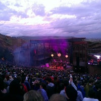 Photo taken at Red Rocks Park & Amphitheatre by Aaron Z. on 5/21/2013