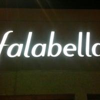 Photo taken at Falabella by Mario Francisco A. on 6/9/2014