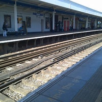 Photo taken at Staines Railway Station (SNS) by Andrew W. on 6/4/2013