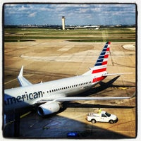 Photo taken at Dallas Fort Worth International Airport (DFW) by Chris O. on 6/6/2013