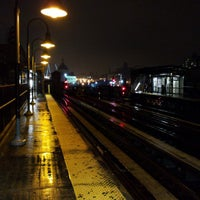 Photo taken at MTA Subway - Marcy Ave (J/M/Z) by Mike D. on 4/1/2013