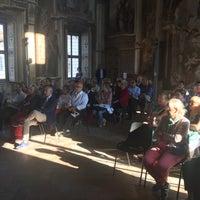 Photo taken at Palazzo Borromeo by Alessandro C. on 9/24/2016