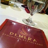 Photo taken at Demera Ethiopian Restaurant by iSapien 1. on 4/12/2013