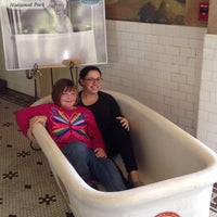 Photo taken at Quapaw Baths & Spa by Lea G. on 10/26/2014