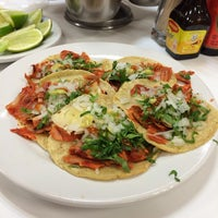Photo taken at Tacos Los Tarascos by Carmen Q. on 11/8/2013