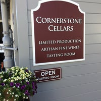 Photo taken at Cornerstone Cellars by Varun S. on 4/30/2016