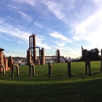 Photo taken at Gas Works Park by Steve D. on 10/10/2013