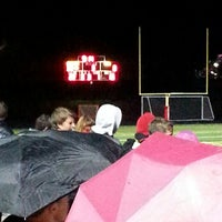 Photo taken at Boulder High School Stadium by Mary H. on 10/10/2014