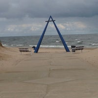 Photo taken at St. Joseph South Pier (at Silver Beach) by M-A on 7/15/2014