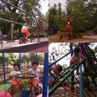 Photo taken at Taman Lalu Lintas by Kiki L. on 9/17/2015