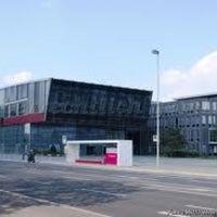 Photo taken at Deutsche Telekom Campus by Jonas M. on 10/1/2012