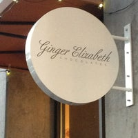 Photo taken at Ginger Elizabeth Chocolates by Chris L. on 6/9/2013