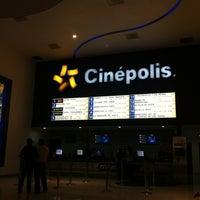 Photo taken at Cinépolis by Javier M. on 1/19/2013