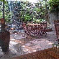 Photo taken at Xưa & Nay Cafe by Nguyen T. on 10/14/2012