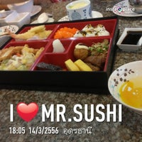 Photo taken at Mr. Sushi Udonthani by El Pistolero D. on 3/14/2013