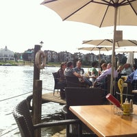 Photo taken at The Riverside Terrace by Daniel on 9/13/2014