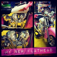 Photo taken at Toms Harley Garage by Tommy D. on 12/11/2012