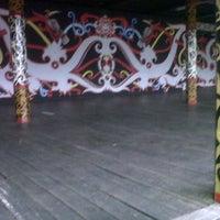 Photo taken at Rumah Adat Betang by yasir k. on 1/15/2013