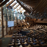 Photo taken at Scottish Parliament by Elena T. on 8/17/2016