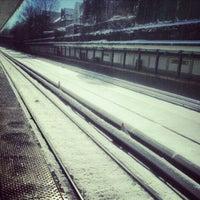 Photo taken at MTA Subway - Cortelyou Rd (Q) by Raphael P. on 2/9/2013