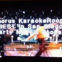 Photo taken at Chorus Karaoke and Cafe by Conrad & Jenn R. on 12/7/2014