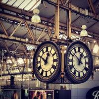 Photo taken at London Waterloo Railway Station (WAT) by Chris T. on 12/11/2012