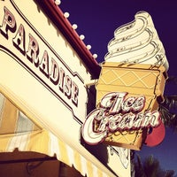 Photo taken at Paradise Pier Ice Cream Co. by Duane M. on 8/9/2013