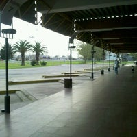 Photo taken at Terminal de Omnibus Pergamino by Franco H. on 9/15/2012