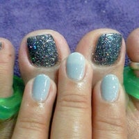 Photo taken at Nails L'mour by nai n. on 11/7/2013