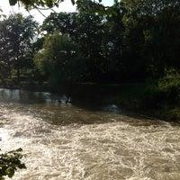 Photo taken at Ernst-Ehrlicher-Park by Bastian D. on 6/7/2013