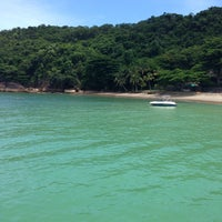 Photo taken at Ilha Dos Porcos by Raquel C. on 1/25/2015