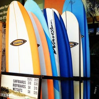 Photo taken at Jack's Surfboards by Eric O. on 4/24/2013