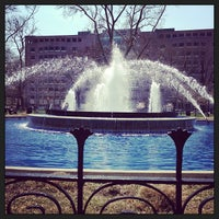 Photo taken at Franklin Square by Keith T. on 4/10/2013