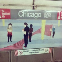 Photo taken at CTA - Chicago (Red) by Andrew H. on 4/30/2013