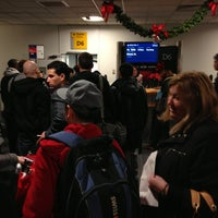 Photo taken at Gate D6 by Michael S. on 12/24/2012