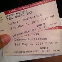 Photo taken at Laxson Auditorium by Haleja M. on 5/4/2013