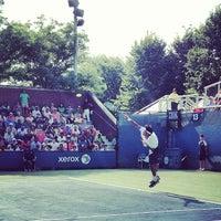 Photo taken at Court 13 - USTA Billie Jean King National Tennis Center by Lawler W. on 8/30/2013