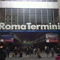 Photo taken at Roma Termini Railway Station (XRJ) by Mari trini G. on 3/29/2013
