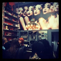 Photo taken at MAKE UP FOR EVER by Jackie L. on 4/10/2014