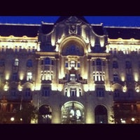 Photo taken at Four Seasons Hotel Gresham Palace Budapest by Teoman E. on 11/10/2012