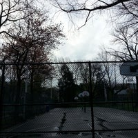 Photo taken at Memorial Park Playground by Neal H. on 4/26/2014