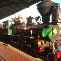 Photo taken at Walt Disney World Railroad - Main Street Station by Andres A. on 3/29/2013