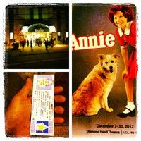 Photo taken at Diamond Head Theatre by Rj E. on 12/30/2012