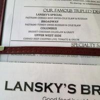 Photo taken at Lansky's Deli by Hansen on 12/25/2012