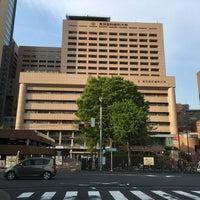 Photo taken at お茶の水交差点 by Kanazawa A. on 4/20/2016